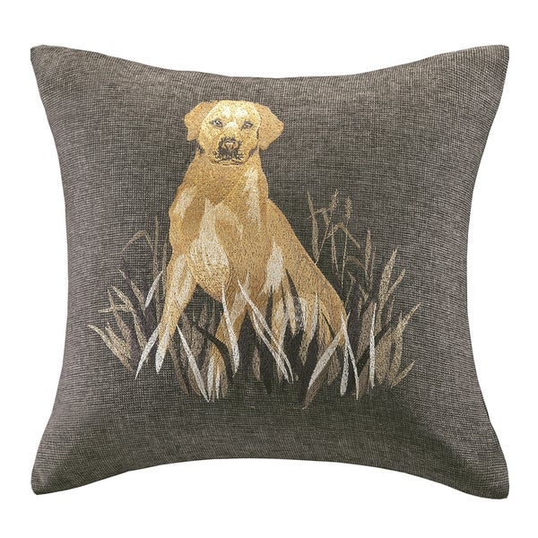 Woolrich Dog Decorative Pillow : Woolrich Oak Harbor Dog Embroidery 20-inch Throw Pillow - 16262602 - Overstock.com Shopping ...