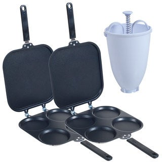Perfect Pancake Maker (Set of 2) with Batter Dispenser