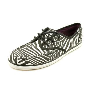 Keds Women's 'Skipper Zebra' Fabric Casual Shoes