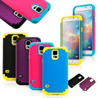 Gearonic Rugged PC and Silicone Case for Samsung Galaxy S5 i9600
