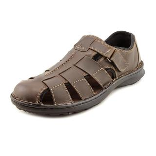 Clarks Men's 'Swing Cove' Leather Sandals