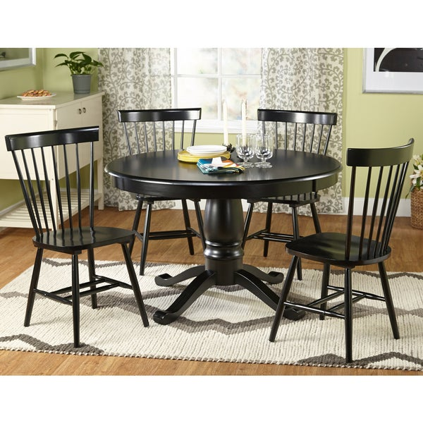Simple Living Kale Black 5-piece Dining Set