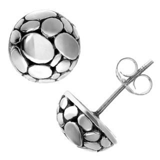 Journee Collection Sterling Silver Stud Earrings