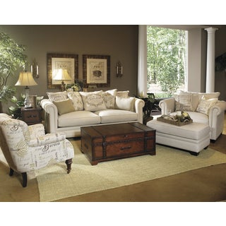 Cynthia Beige 4-piece Sofa Set