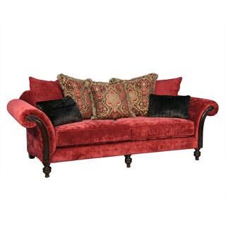 Coco Red Sofa