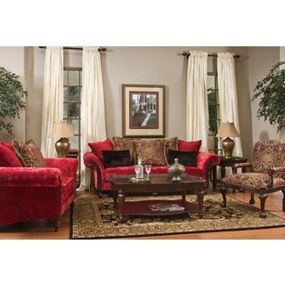 Made To Order Coco Red Love Seat