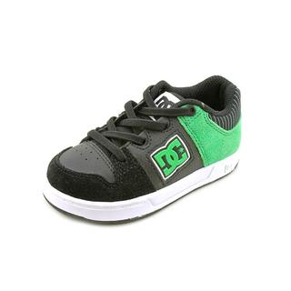 DC Boy (Toddler) 'Turbo Elastic' Leather Athletic Shoe