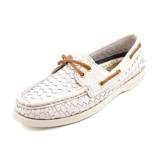 Sperry Top Sider Women's 'A/O Silver' Leather Casual Shoes