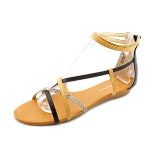 CL By Laundry Women's 'Shannen' Faux Leather Sandals (Size 7 )