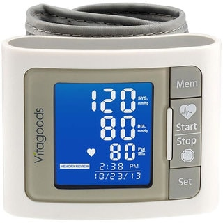 VitaGoods VGP-4300G Grey Travel Blood Pressure Monitor