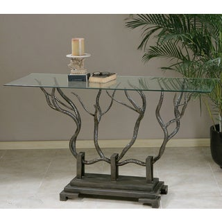 Esher Bronze Rectangular Console Table