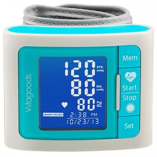 VitaGoods VGP-4300W White Travel Blood Pressure Monitor