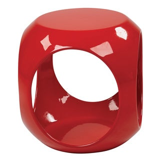 Ave Six Slick High Gloss Accent Table