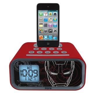 iHome Marvel Iron Man iPod Alarm Clock Speaker