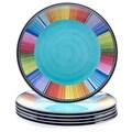 Certified International Serape 11-inch Melamine Dinner Plate (Set of 6)