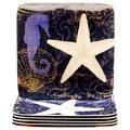 Certified International Coastal Moonlight 10.5-inch Melamine Dinner Plate (Set of 6)