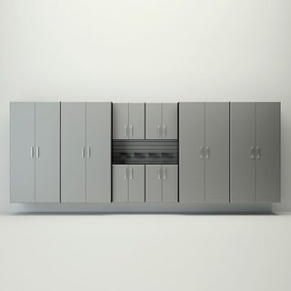 Flow Wall 16-foot Jumbo Cabinet Storage Set