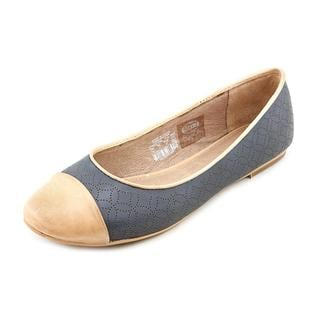Fossil Maddox Novelty Flat - Fossil Women's Shoes : These charming flats from Fossil will take you far. ; Haircalf or fabric upper. ; Easy slip-on design