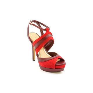 Jessica Simpson Women's 'Eman' Kid Suede Sandals (Size 6.5 )