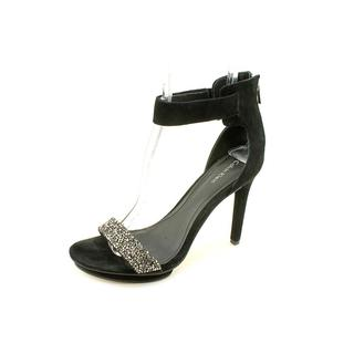Calvin Klein Women's 'Victoria' Kid Suede Sandals (Size 7.5 )