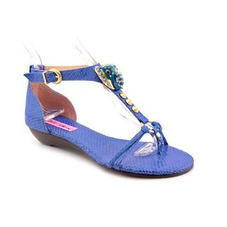 Betsey Johnson Women's 'Kahluua' Leather Sandals (Size 8.5 )