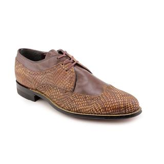 Stacy Adams Men's 'Dayton' Leather Dress Shoes - Extra Wide (Size 10 )