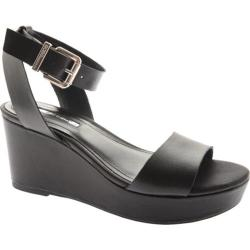 Women's BCBGeneration Fiji Black Leather