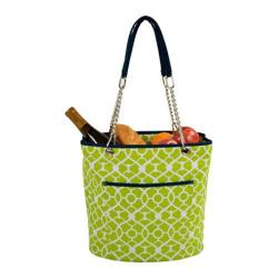 Picnic at Ascot Insulated Cooler Tote Trellis Green