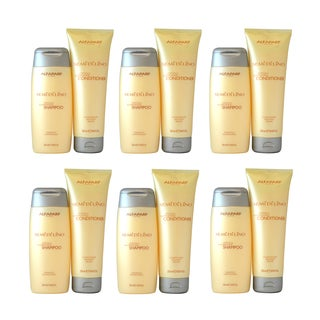 Alfaparf Milano Semi Di Lino Cristalli Illuminating 8.45-ounce Shampoo and Conditioner (Pack of 6)