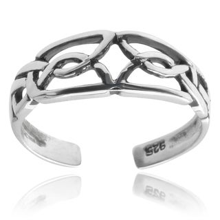 Tressa Collection Sterling Silver Celtic Toe Ring