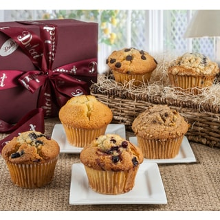 Dulcets Assorted Gourmet Muffin Gift Box