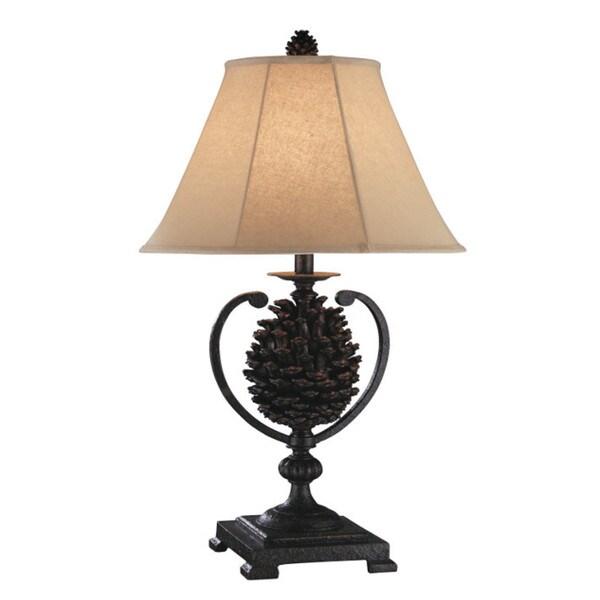 Big Sur Pine Cone Table Lamps (Set of 2)
