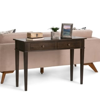 Richland Dark Tobacco Brown Console Table