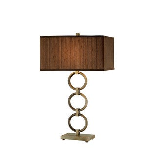 Chase Metal and Marble Table Lamp