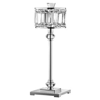 Paramount Chrome and Crystal Table/ Buffet Lamp