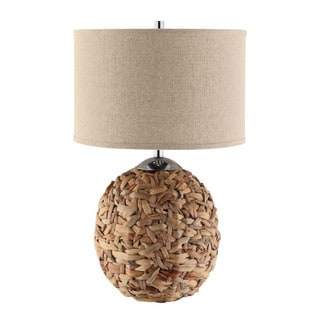 Parker Rattan Ball Table Lamp