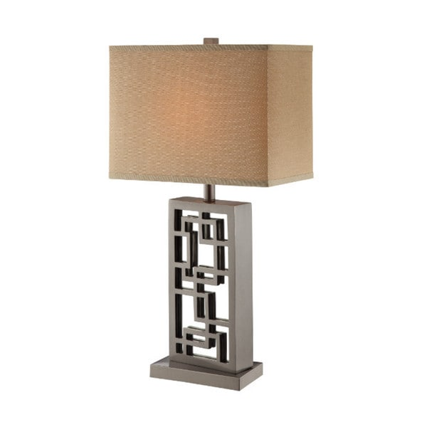 Inigo Silver Table Lamp