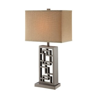 Sale inigo silver table lamp w2gfhfdh for Miss k table lamp closeout special