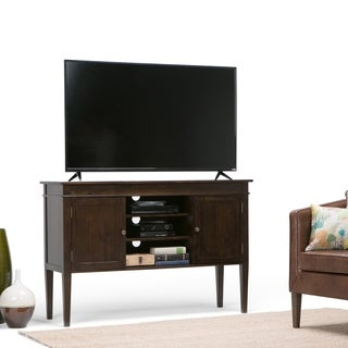 Richland Collection Dark Tobacco Brown Tall TV Stand