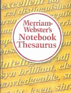 Merriam-Webster's Notebook Value Pack: Dictionary, Thesaurus, Spanish-english Dictionary (Paperback)