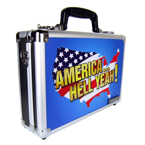 Common Sense 'America Hell Yeah!' Single/ Double Pistol Case
