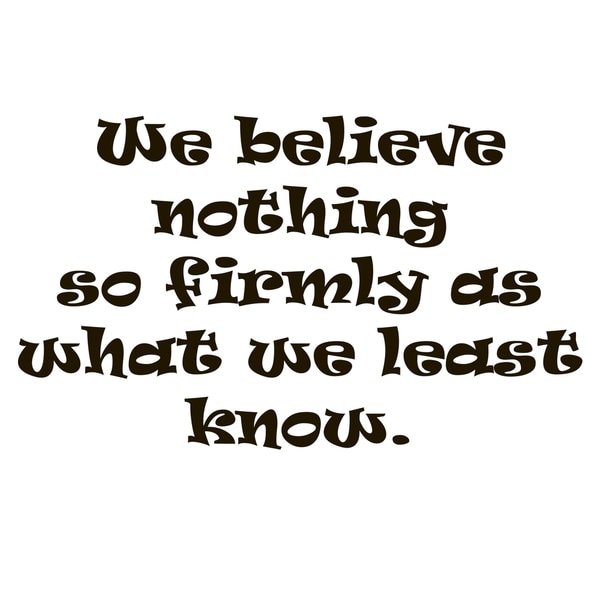 Believing Wall Decor Quote