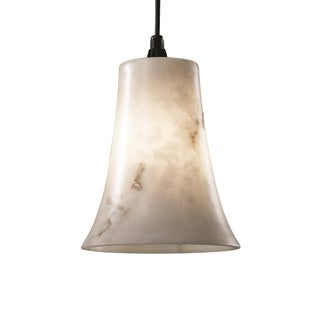 Justice Design Group LumenAria Single-light Dark Bronze Pendant