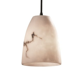 Justice Design Group LumenAria Single-light Tapered Cylinder Mini Pendant