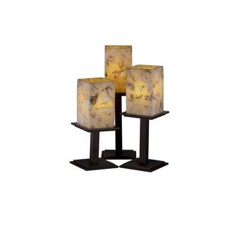 Justice Design Group Montana 3-light Dark Bronze Table Lamp