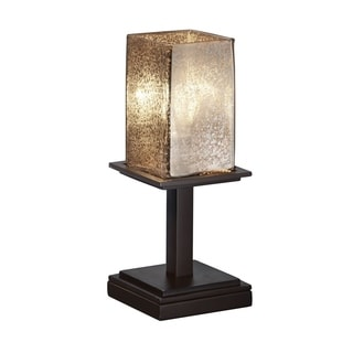 Fusion Montana 1-Light Short Dark Bronze Table Lamp