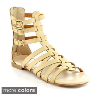 Nature Breeze Women's 'Rome-05' Gladiator Sandals