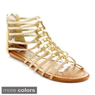 Nature Breeze Women's 'Joburg-03' Gladiator Sandals