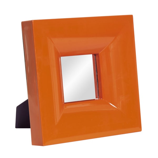 Bright Orange Mirror