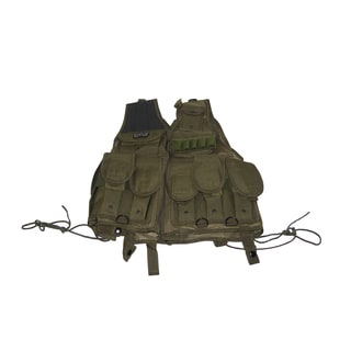 Airsoft GXG Mil Sim Six-mag/ Pouches OD Green Tactical Assault Vest